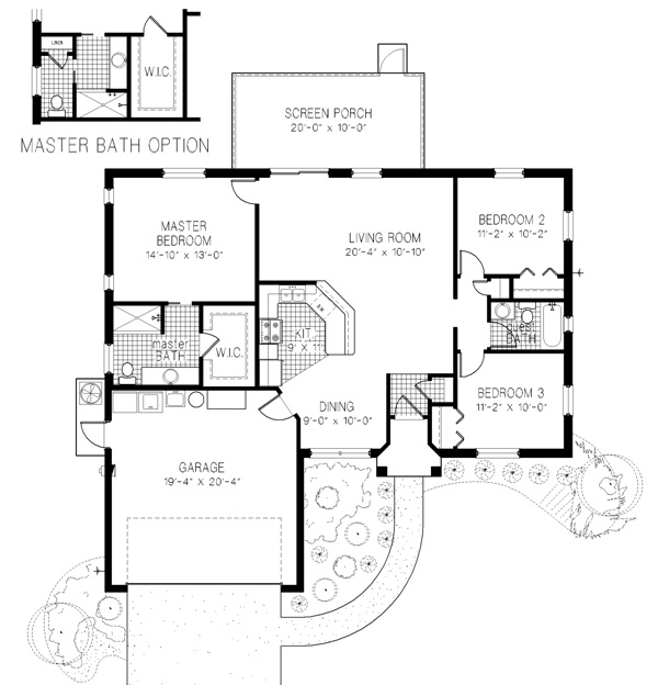Norman adams home builders the highlander model and floor for Norman bates house floor plan