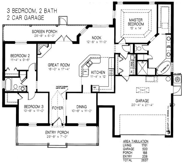 Norman Adams Home Builders The Marie Rose Model And Floor