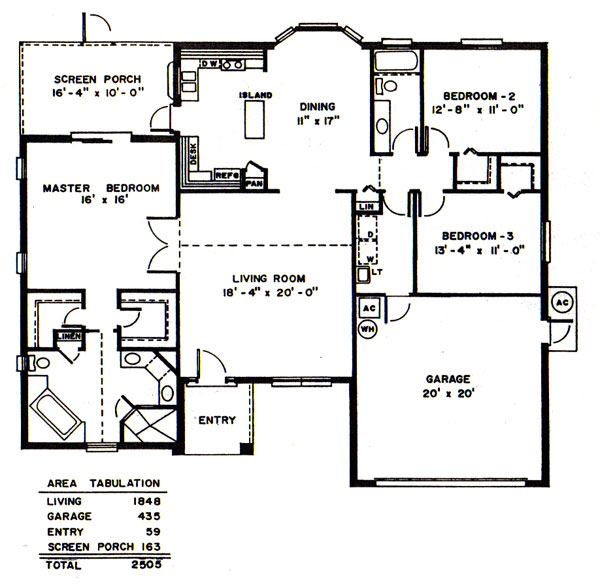 Norman Adams Home Builders The Nicholas Model And Floor